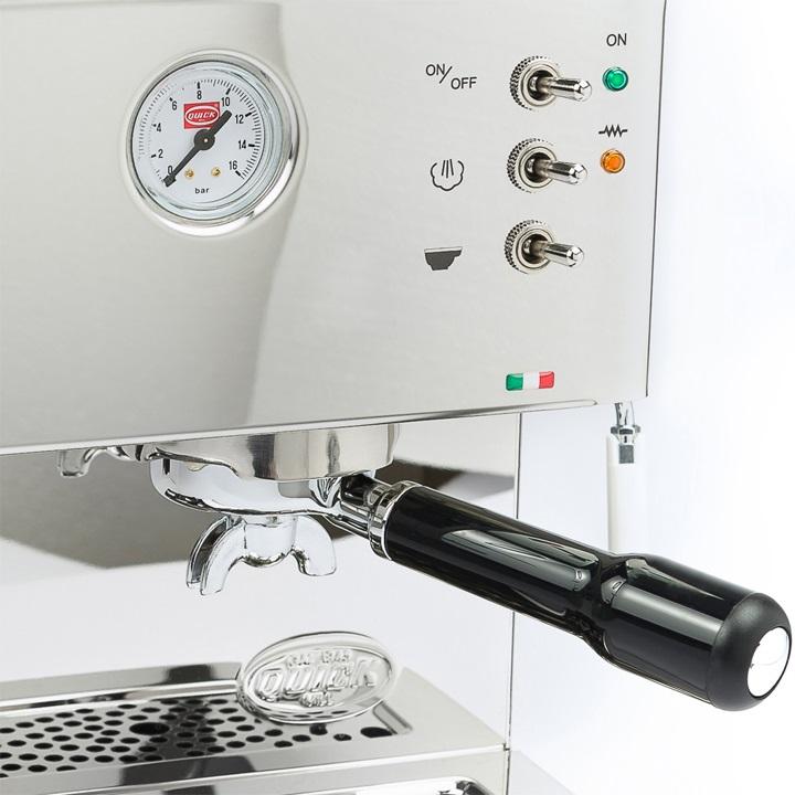 Quick Mill 3035 met geïntegreerde koffiemolen