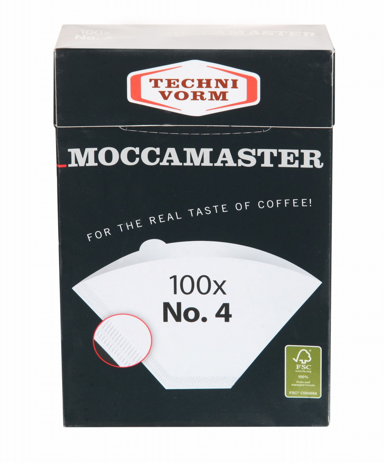 Moccamaster Filterpapier Wit maat 4
