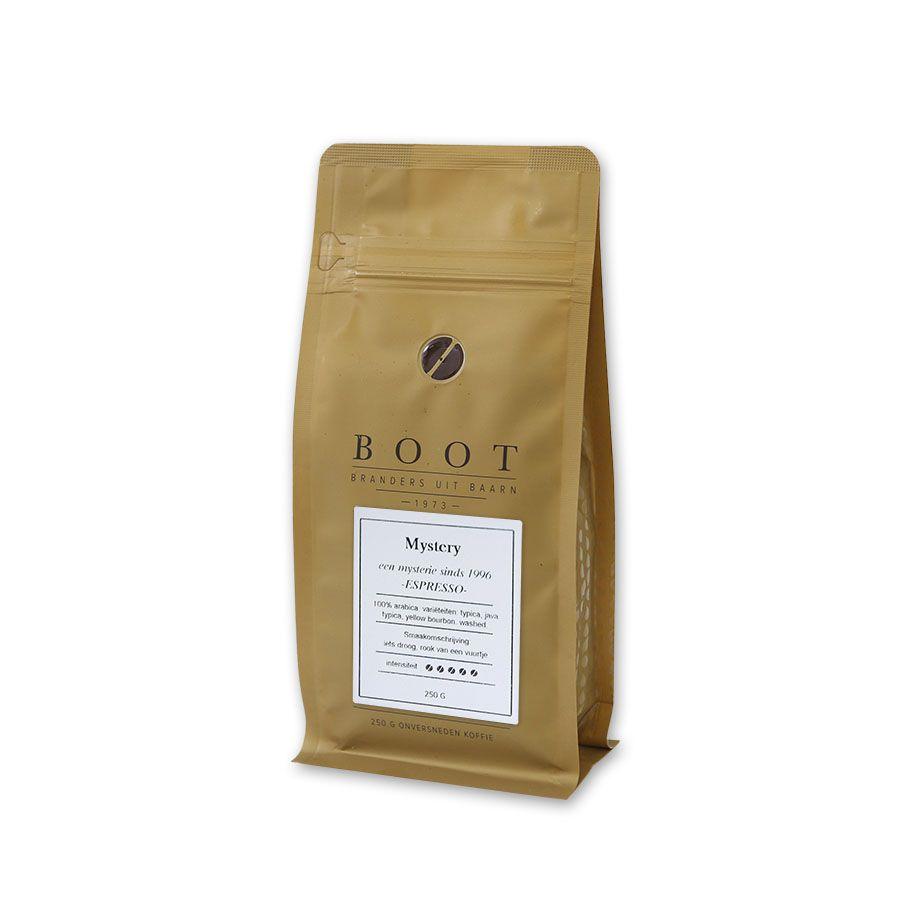 Boot Mystery Dark Roast espresso, 250 gr.